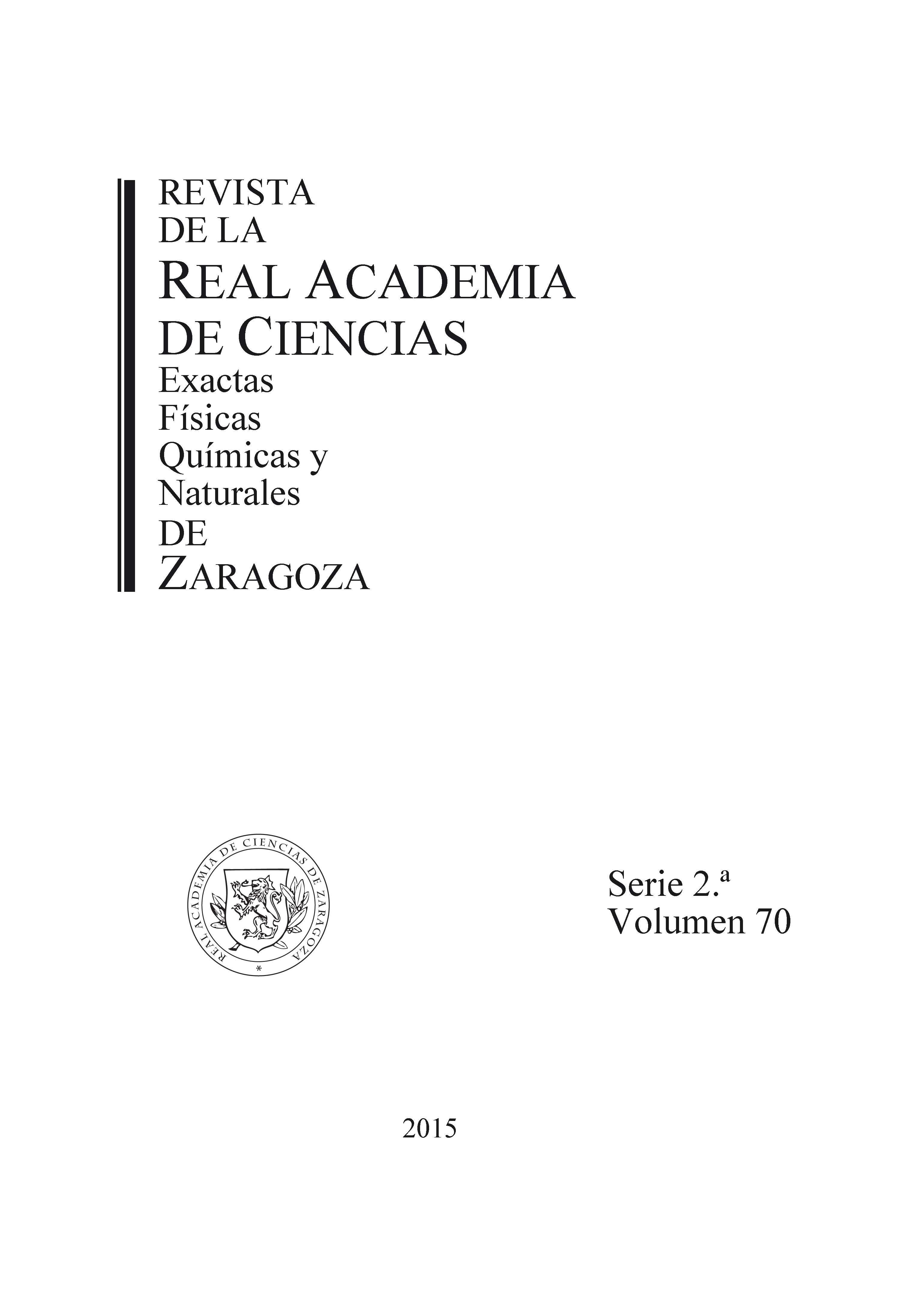 Revista de la Real Academia de Ciencias de Zaragoza